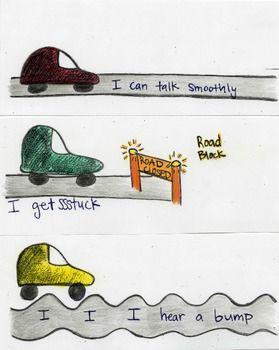 Stuttering Speech Roads