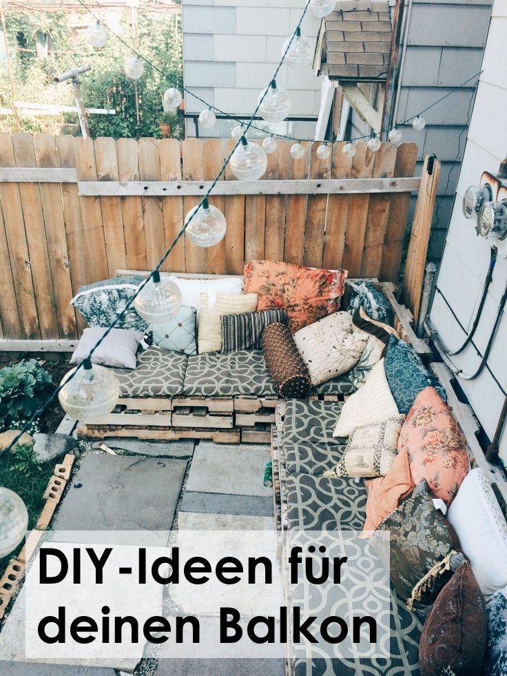 Klein, aber oho! Mit diesen DIY-Ideen wird euer Balkon zu einem stylischen…
