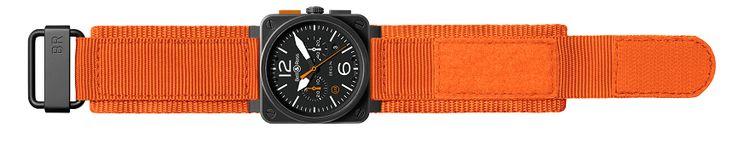 Bell & Ross BR 03-94 Carbon Orange Watch   aBlogtoWatch