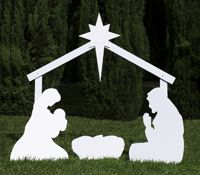 Start sharing the Christmas story with our best-selling outdoor nativity sets. Expand your scene over time with add-ons.…