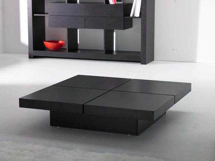 Coffee Tables are a classic part of living rooms which while giving company  to a conversation - 25+ Best Ideas About Black Square Coffee Table On Pinterest