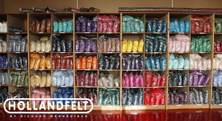 Soft Merino wool in 80 colours @ http://www.hollandwool.nl