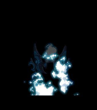 【ゲーム】メイプルストーリー【効果】メギドフレイム [マスターレベル:1] REV LEV:170  相手の魂まで燃やしてしまう青い炎を飛ばして敵を消滅させる。 [MP 500消費、前方の1体の敵に700%のダメージで6回攻撃、以後 30秒間 1秒ごとに700%の持続ダメージ発生、攻撃無視及び攻撃反射効果無視、再使用待機時間:90秒間、ダメージ最大値 9,999,999]