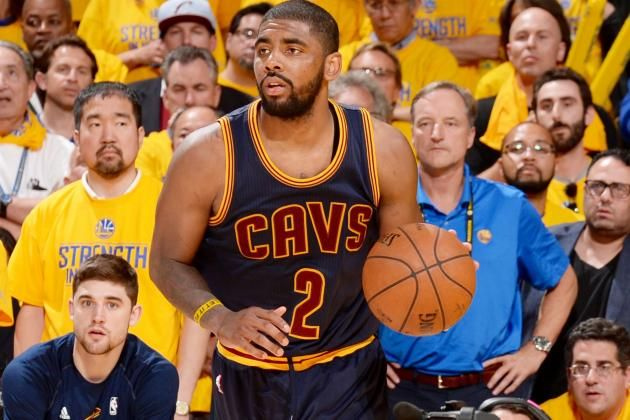 Kyrie Irving comes from NOWHERE to block Steph Curry's game-winning layup Kyrie Irving  #KyrieIrving