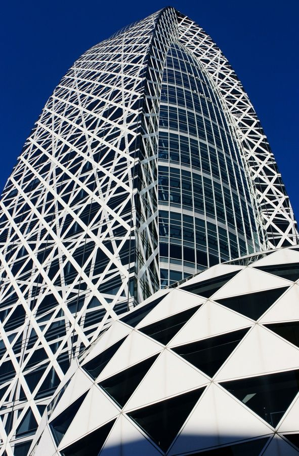 ☮ Modern architecture Mode Gakuen Cocoon Tower - Tokyo, Japan   Incredible Pictures