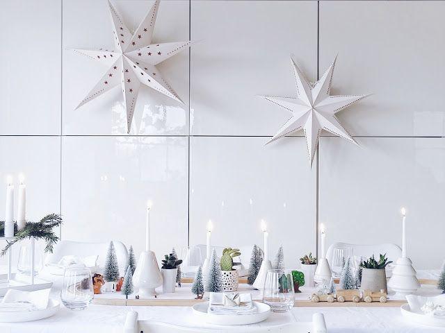 Auf der Mammilade|n-Seite des Lebens: Eine DIY-Tischdeko für unser Weihnachtsfest | Ich wünsche mir zum Heiligen Fest einen Tisch, an dem es sich mit Groß und Klein entspannt wohlfühlen und beisammen sein lässt | Gaumenschmaus und Entdeckerfreuden im Miniatur-Tannenwald
