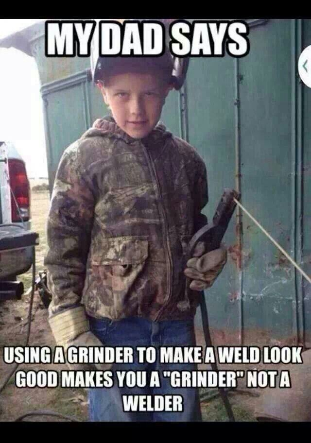 Exactly right. If you can't make the weld look good drop that stinger                                                                                                                                                     More