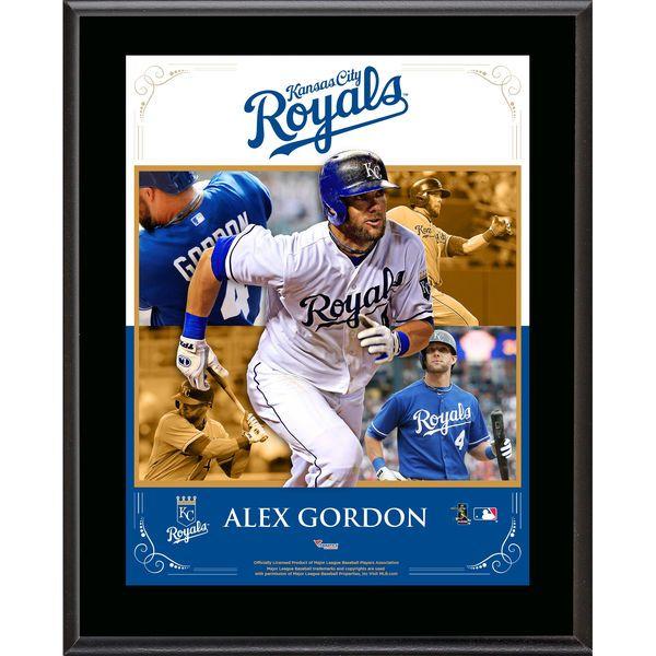 """Alex Gordon Kansas City Royals Fanatics Authentic 10.5"""" x 13"""" Sublimated Composite Plaque - $29.99"""