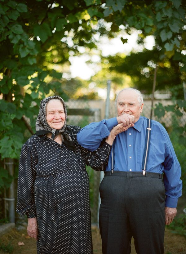"""I love this photo shoot; click on the link to see all the pictures! Their answer to the question posed is beautiful and heartwarming.   """"We asked them: What is the secret to a long lasting marriage?"""""""