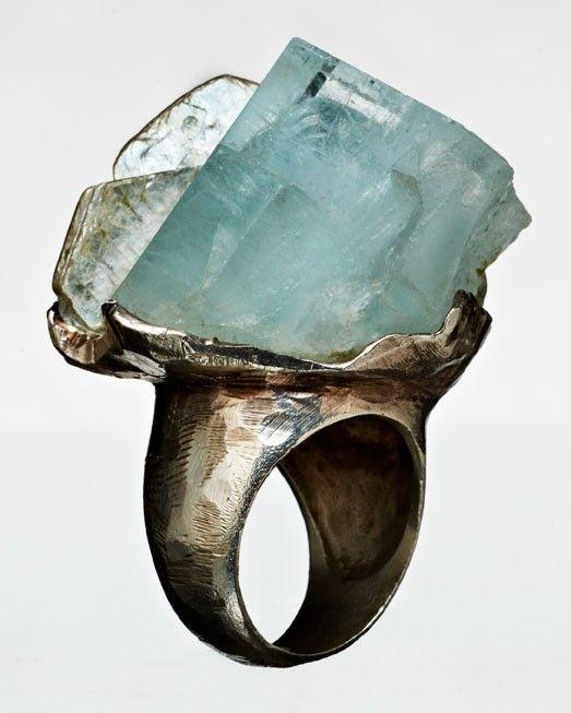 ringAquamarines Rings, Ice Cubes, Aquamarine Rings, Stone Rings, Jewels, Stones, Jewelry Rings, Silver Rings, My Style