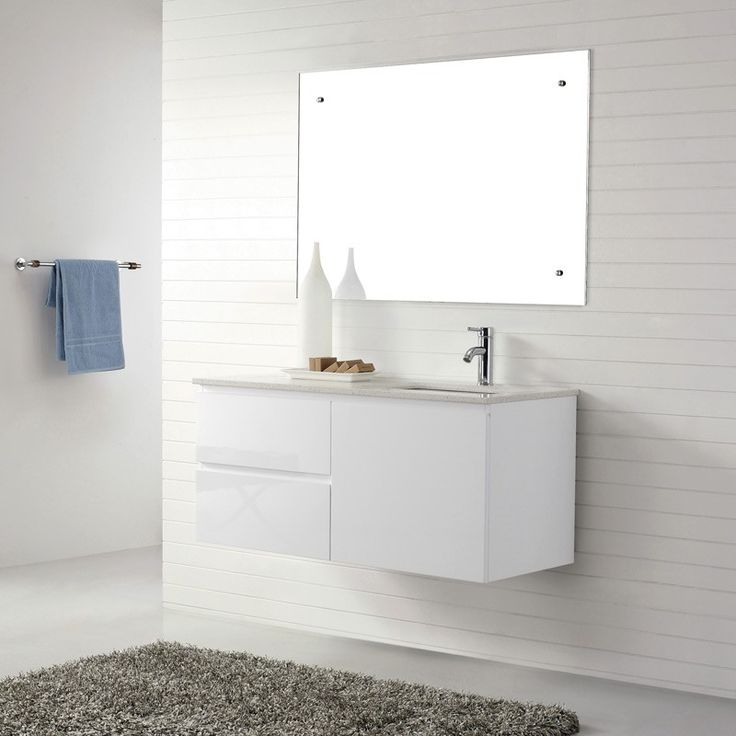 Best House Bathroom Floating Sink Images On Pinterest White - Bathroom vanities portland oregon for bathroom decor ideas