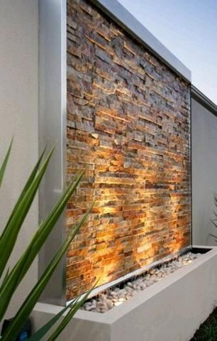 Pedra Ferro Basalto Filete Ferrugem 5 x Livre