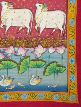 Image result for pichwai temple art