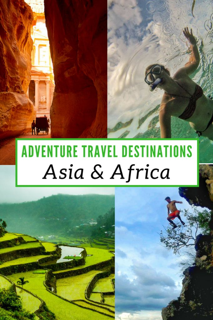 If you're looking for active vacation ideas then this article on Adventure Travel Destinations in Asia & Africa is for you. We asked some of the best-traveled people we know for their top picks and have listed them for you here. Some may surprise you but they all will inspire you! via @livedreamdiscov