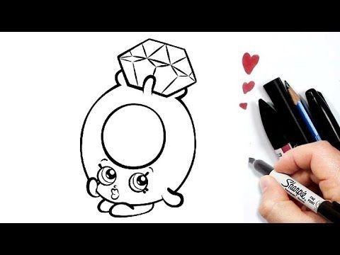 رسم سهل طريقة رسم خاتم الخطوبة للأطفال تعليم الرسم للاطفال رسومات بالرصاص تعلم الرسم Youtube Enamel Pins Accessories