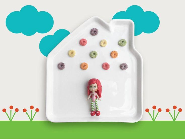 plato de cerámica infantiles para comidas divertidas - ceramics plates for kids for fun meal