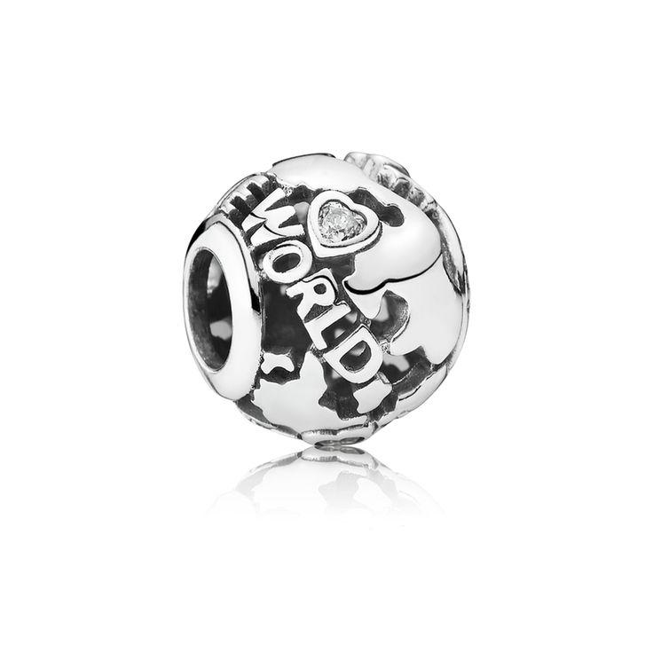 60a49748e FREE UK Pandora Sterling Silver Around The World, Clear CZ - Pandora US  PANDORA eSTORE Buy PANDORA Silver Oriental Fan Charm at ...