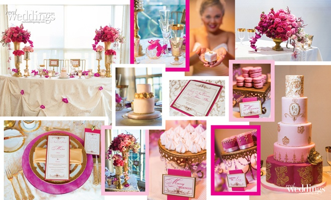 Arrangements from Ambience Floral Design and an array of treats from Pretty Sweet are visually stunning