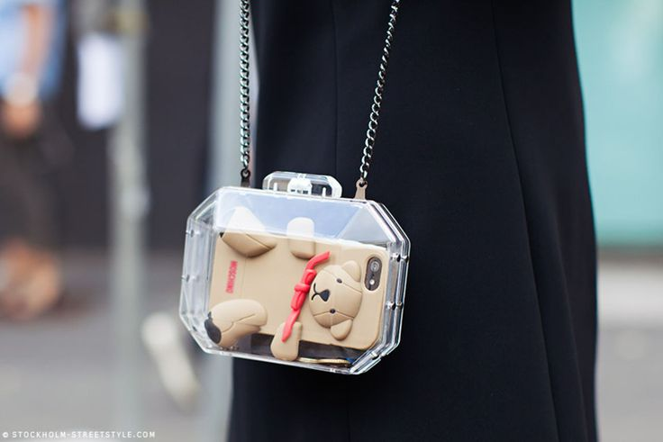 clear box clutch #adorable