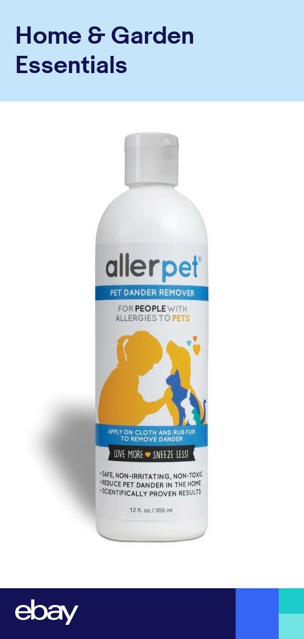 Allerpet Pet Dander Remover 12 oz Prevents Allergic Reactions from Furry PetseBay.co.uk