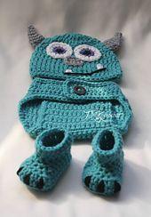 Ravelry: Monsters Inc. Sully Photo Prop Set pattern by Jennifer Lynas