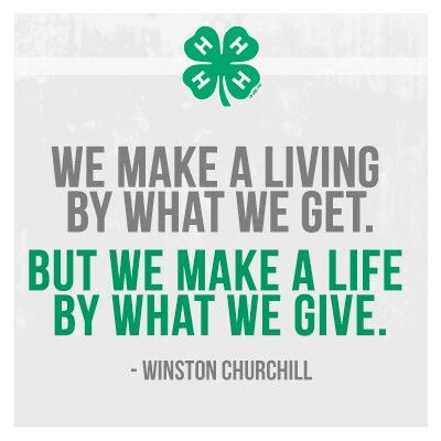 Love 60H We Are So Blessed There Are Amazing People In Our Awesome 4 H Quotes