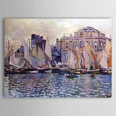 Famous Oil Painting Le Havre Museum by Claude Monet – AUD $ 121.99