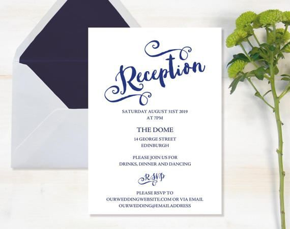 21 best Wedding Invitation Templates images on Pinterest - dinner invitations templates