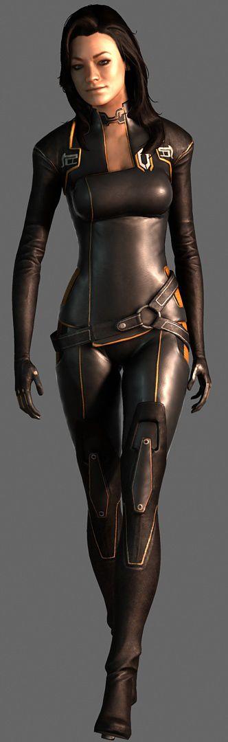 Miranda Lawson - Full Body by JeanLuc761.deviantart.com on @deviantART