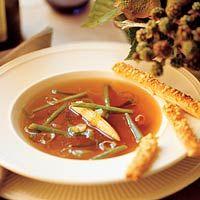 Recept - Wildbouillon met fijne groenten - Allerhande
