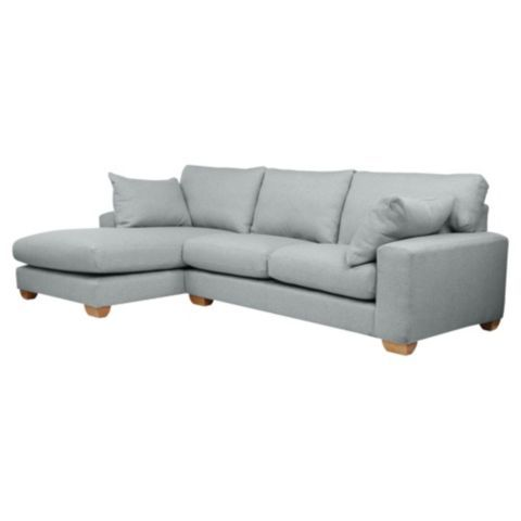 Tesco direct: Whitstable Left Hand Tweed Corner Chaise,