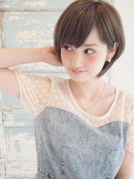 大人かわいい☆小顔ショート - ヘアスタイル・髪型・ヘアカタログ [キレイスタイル]