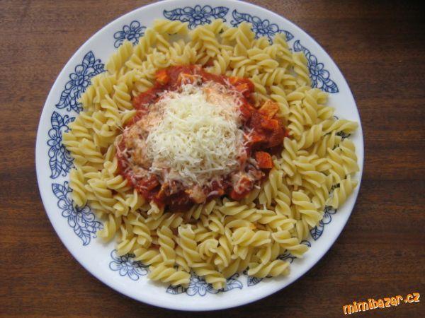 Pravá italská omáčka na těstoviny - je skvělá