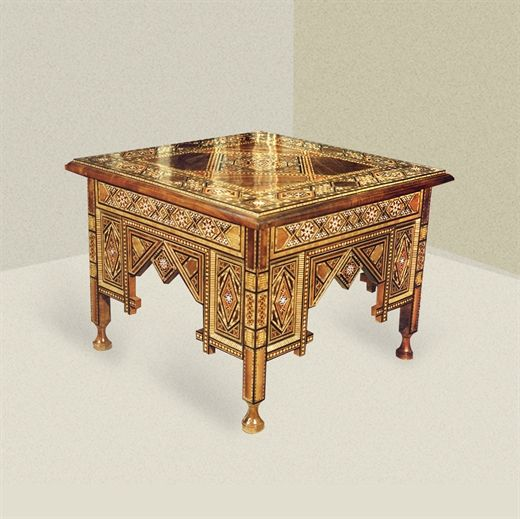 Picture of Style # 1464 - Syrian Mosaic side table.