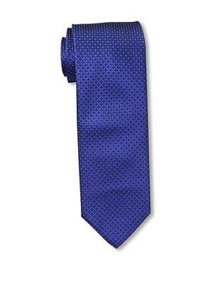 Massimo Bizzocchi Men's Micro Dot Tie, Blue