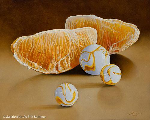 Mickie Acierno, 'Full House', 24'' x 30'' | Galerie d'art - Au P'tit Bonheur - Art Gallery