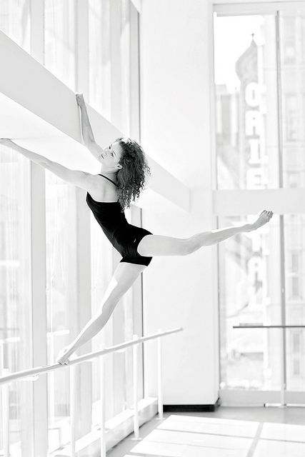 Alexis Polito - Joffrey Ballet by Gina Uhlmann  #wedance #discountdance #ballet #dance #white #black