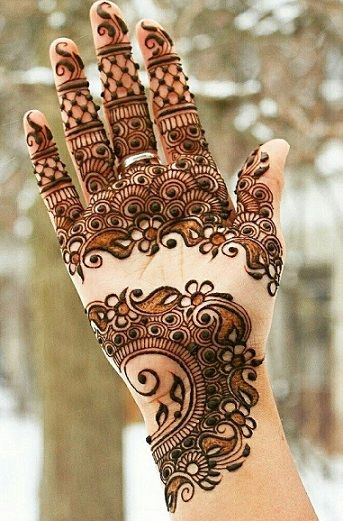 Arabic Mehndi Designs - 2