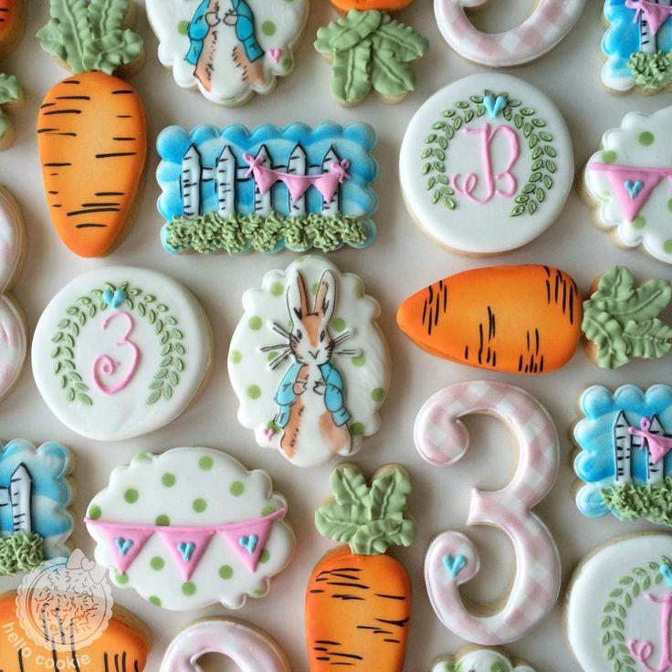 Peter Rabbit | Cookie Connection  www.facebook.com/hellocookiejen