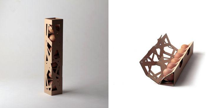 Originales diseños de packaging de huevos
