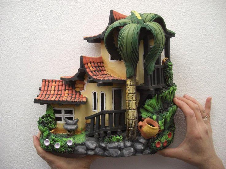 335 best pintura en cer mica images on pinterest pintura fruit bowls and polymer clay - Pintar tejas de barro ...