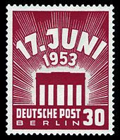Der 17. Juni 1953 in Ost-Berlin und in der DDR
