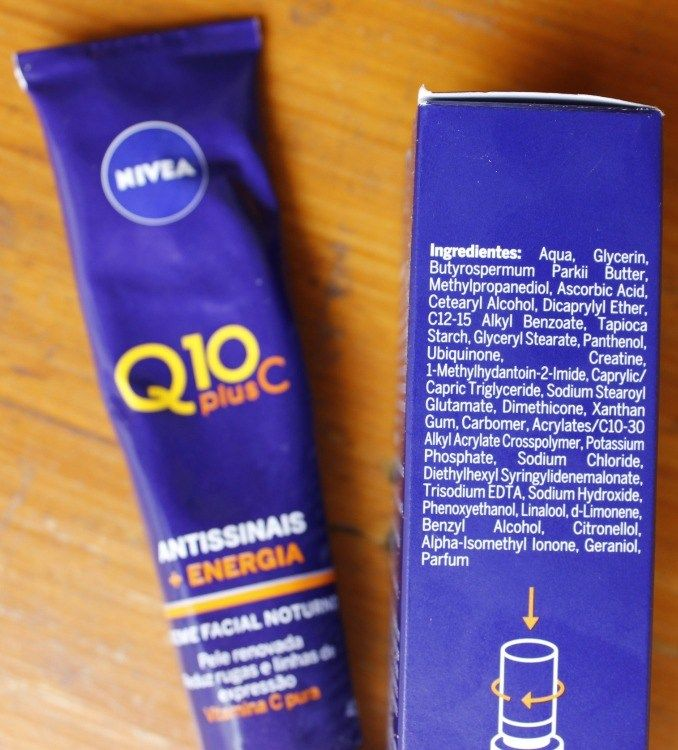 Nivea Q10 Plus C E Vitamina C Ou Hidratante Resenha Produtos