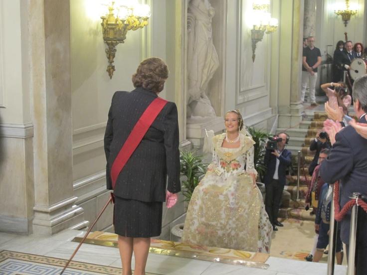 Begoña Jiménez, Fallera Mayor de Valencia 2013