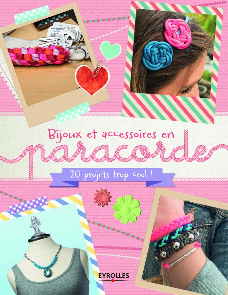 Voici mon premier livre sur des objets à fabriquer en paracorde. Bijoux, bracelets, accessoires.