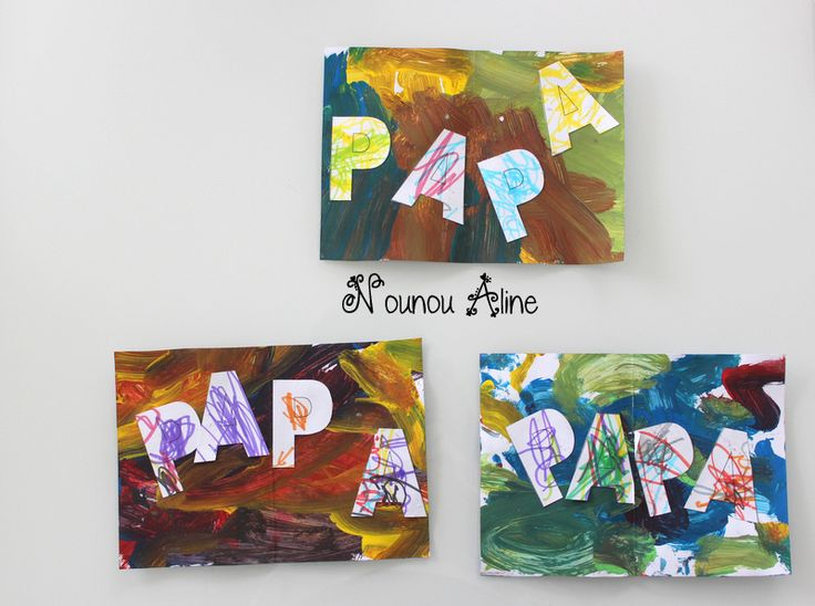 17 best images about f tes des parents on pinterest - Carte fete des peres maternelle ...