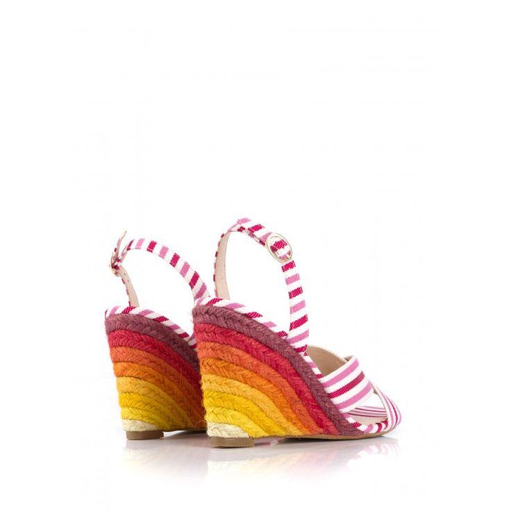 Sandale BANDANA Rouge