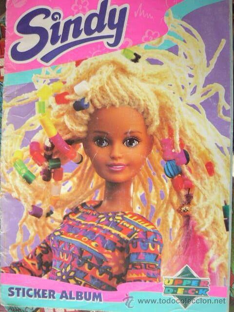 Álbum de cromos de la muñeca Sindy. Si Barbie tenía el suyo, Sindy también. ¿Quien se acuerda?