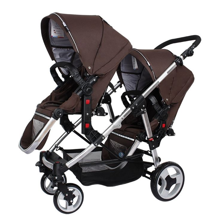 Brand twins baby stroller Multifunctional twin baby