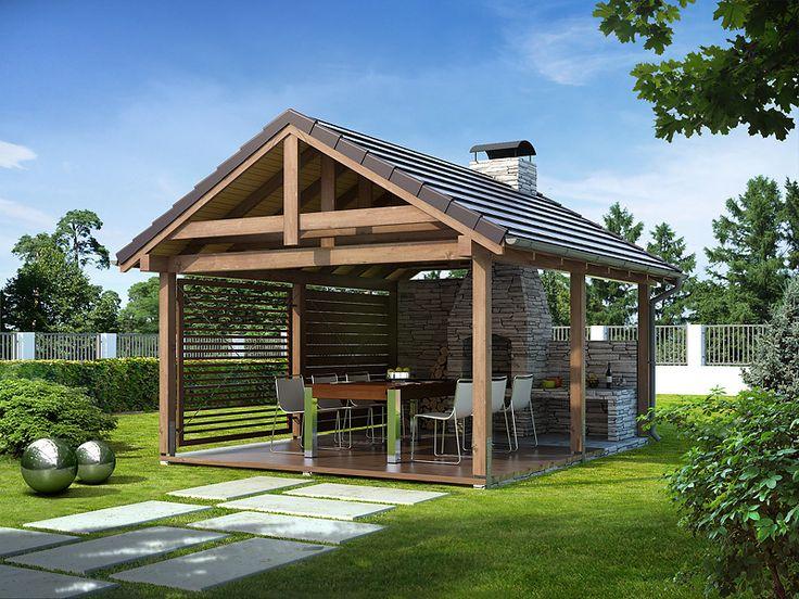 DOM.PL™ - Projekt domu MT Altanka 4 CE - ALTANA ST6-92 - gotowy projekt domu